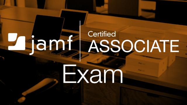 Jamf Certified Associate Exam - English