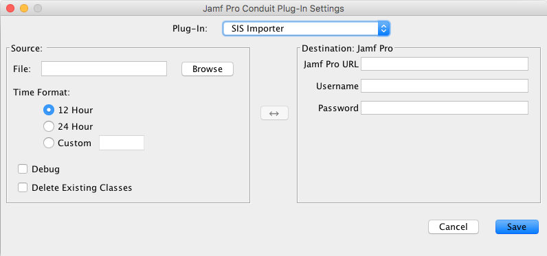 Setting Up an SIS Importer Instance - SIS Importer Plug-in User
